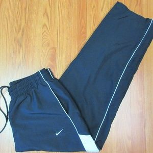 NIKE Mens POLYESTER WINDBREAKER PANTS COTTON LINED